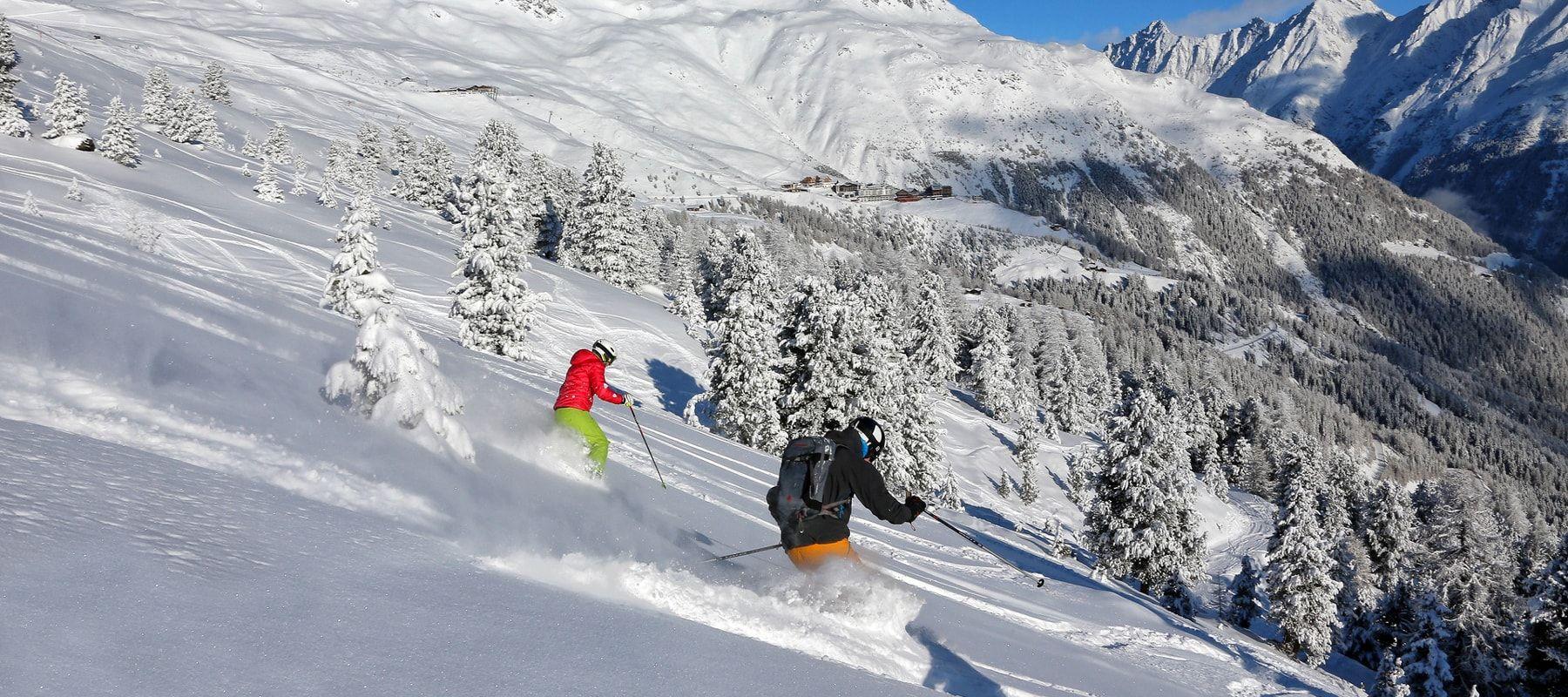 Hochsölden-skifahren