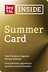 Oetztal Inside Summer Card inclusive